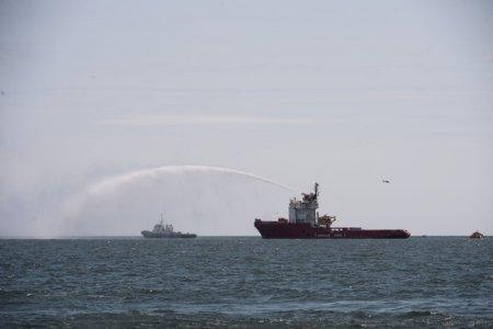 Nava esuata. Marea Neagra se confrunta cu o catastrofa ecologica din cauza autoritatilor bulgare