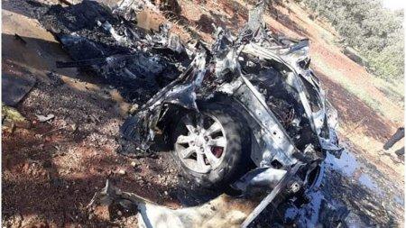 Lider al-Qaeda ucis intr-un atac cu drone in <span style='background:#EDF514'>SIRIA</span>