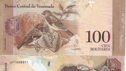 Venezuela a taiat cu 6 zerouri din coada monedei nationale. In vechiul sistem, o sticla de doi litri de <span style='background:#EDF514'>APA MINERALA</span> costa peste 8 milioane de bolivari