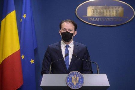 Premierul Florin Citu, cu 4 zile in urma: Vom face fata, sistemul de sanatate va face fata