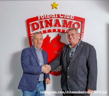 Antrenorul Mircea Rednic a semnat contractul cu Dinamo, penultima clasata in Liga 1