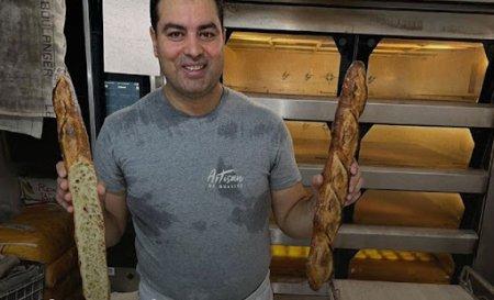 Un tunisian ajuns in Franta fara acte il va hrani cu paine pe presedintele Emmanuel Macron