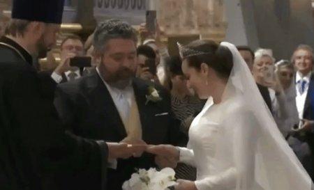 Rusia a avut prima nunta regala din ultimii 100 de ani. Cine au fost mirii