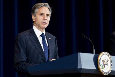 Antony Blinken se va intalni cu oficiali francezi, in efortul de remediere a relatiilor SUA-Franta