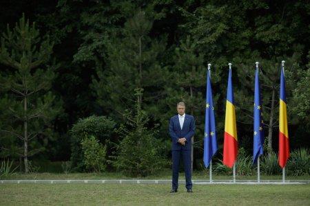 Klaus Iohannis, moment de reculegere in Germania: Ne aflam intr-un punct de cotitura