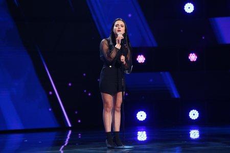 X Factor 2021, 1 octombrie. Sofia Cagno a uimit juratii cu interpretarea piesei Runnin' (Lose It All) de la Naughty Boy