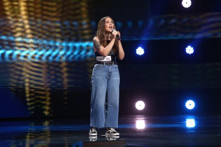 X Factor 2021, 1 octombrie. Ainhoa Sanchez Millan a convins <span style='background:#EDF514'>JURIU</span>l cu Rise Up de la Andra Day: Exceptional, bravo