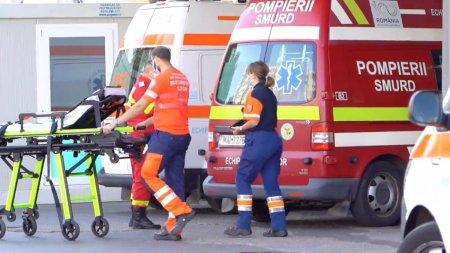 Un barbat internat la Spitalul Judetean din Timisoaraa cazut in gol de la <span style='background:#EDF514'>ETAJUL</span> noua