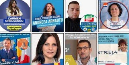 Peste 120 de romani candideaza la alegerile locale din Italia