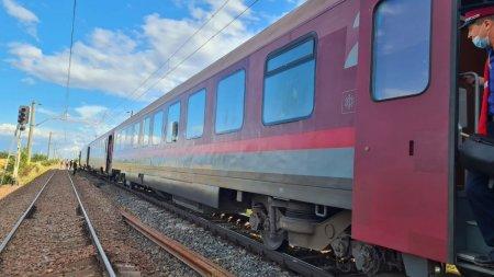 Alerta pe calea ferata! Intarzieri de sute de minute la trenuri din cauza unei avarii la alimentarea cu energie