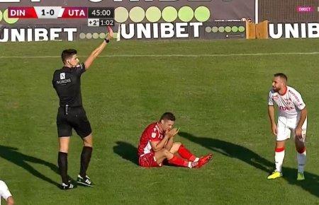 Dinamo - UTA, Batha, eliminat dupa ce l-a lovit pe Torje: O prostie, dar nu e de «rosu»! Se tine de fata, insa l-a lovit in gat