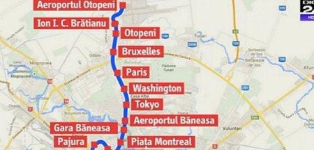 Guvernul a aprobat un memorandum pentru construirea liniei de metrou ce leaga Bucurestiul de Aeroportul Otopeni