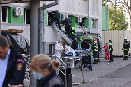 Specialistii INSEMEX <span style='background:#EDF514'>PETROSANI</span> vor face o expertiza in cazul incendiului izbucnit la Sectia ATI de la Spitalul de Boli Infectioase Constanta