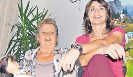 Imagine rara cu mama Nadiei Comaneci. Doamna Ștefania are 80 de ani