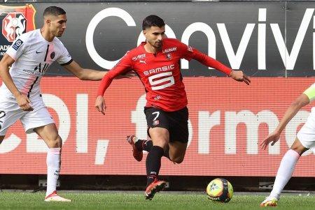 PSG, fara replica la Rennes! Infrangere clara, cu Messi, Neymar si Mbappe titulari
