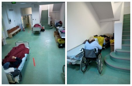 Imagini dramatice la Institutul Marius Nasta: Avem 104 pacienti in sectia COVID si doar 81 de paturi