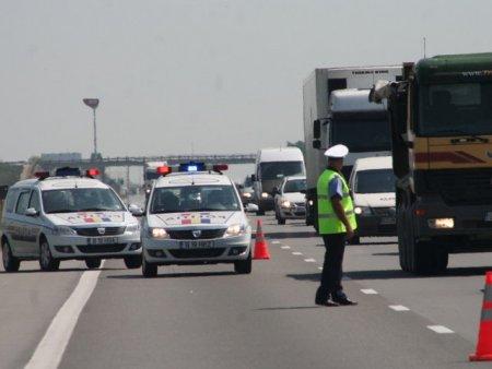 Accident in lant pe <span style='background:#EDF514'>AUTOSTRADA SOARELUI</span>. Coloana pe sensul spre Bucuresti