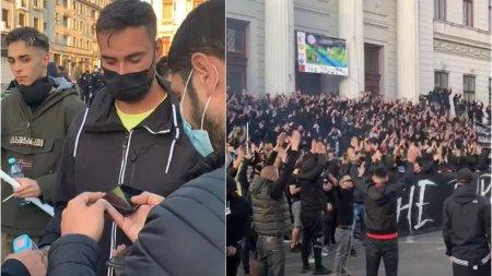 Craiova fierbe inaintea meciului dintre Universitatea si FCU. Fanii Olgutei se confrunta cu cei ai lui <span style='background:#EDF514'>MITITELU</span>