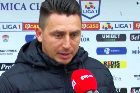Ilie Poenaru, critic dupa infrangerea de la Cluj: N-avem voie sa facem asemenea cadouri!