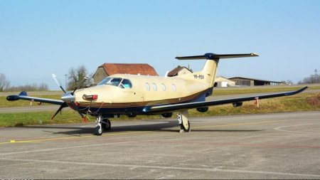 Pilatus Pc-12, aparatul prabusit la Milano, este SUV-ul avioanelor si costa pana la 4,3 milioane de dolari