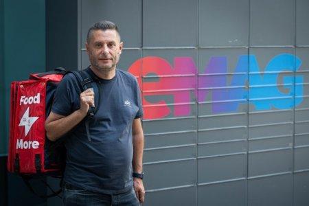Afaceri de la zero. Cum s-a transformat platforma EuCeMananc, pornita in 2013 la Timisoara, in Tazz by eMag, brand care va ataca pietele din Ungaria si Bulgaria in 2022. Platforma EuCeMananc, pornita in 2013 de trei antreprenori din Timisoara, a fost cumparata de eMag in 2019, iar in 2020 s-a rebranduit in Tazz, care se afla acum in peste 30 de orase