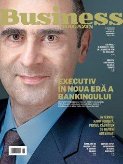 Ce puteti gasi in noul numar al revistei Business Magazin: Revolutia din banking, dezamagirea celui mai cunoscut head-hunter local si cum a ramas Romania croitorasul sclav al Europei