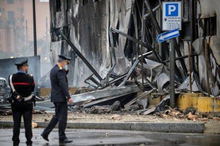 MAE: Sapte din cele opt persoane decedate in accidentul aviatic din Milano sunt romani
