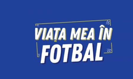 Viata mea in fotbal, LIVE, ora 12:00. Invitat: <span style='background:#EDF514'>GABI BALIN</span>t
