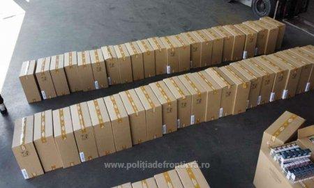 Peste 95 de milioane de tigarete de contrabanda au fost confiscate in primele 9 luni ale acestui an