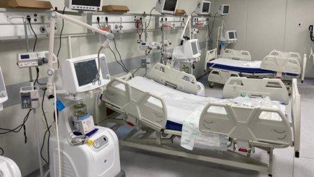 Doar 3 paturi ATI pentru pacienti COVID-19 sunt libere astazi in tara, niciunul in Bucuresti