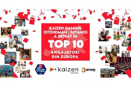 Kaizen Gaming este in Top 10 al celor mai bune locuri de munca din Europa