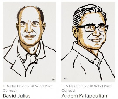 Nobel pentru medicina 2021: David <span style='background:#EDF514'>JULIUS</span> si Ardem Patapoutian