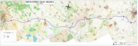 A fost stabilit traseul drumului expres Oradea-Arad, proiect de 1,38 miliarde de euro