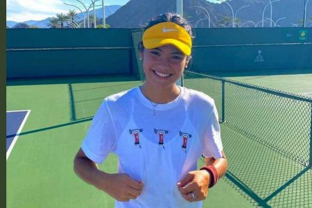 Emma Raducanu, antrenament cu o jucatoare din Romania la Indian Wells » Ce mesaj a publicat britanica