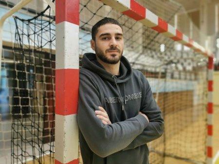 Dani s-a facut mare! >> Vreau neaparat un trofeu cu Constanta!, spune goalkeeperul de la HC Dobrogea Sud