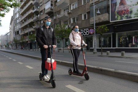 Fara trotinete pe trotuar, doar pe pista de biciclete. Ce alte reguli trebuie respectate