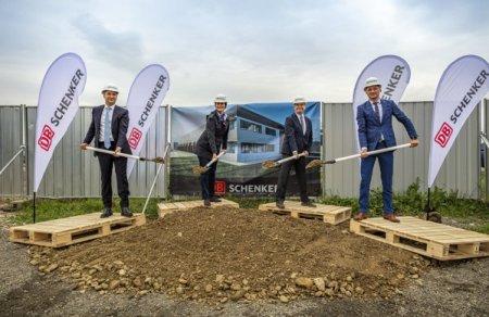 DB Schenker, divizia de logistica a gigantului Deutsche Bahn, deschide un terminal de 2.330 mp in parcul industrial Tetarom III din Cluj-Napoca, al doilea ca marime dupa cel din Bucuresti