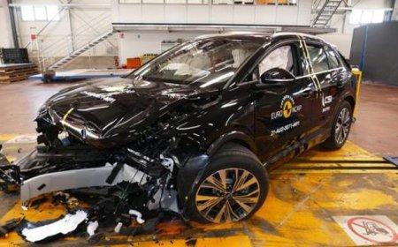 <span style='background:#EDF514'>GALERIE</span> FOTO Testele de accident Euro Ncap: cele 10 masini de 5 stele din 2021