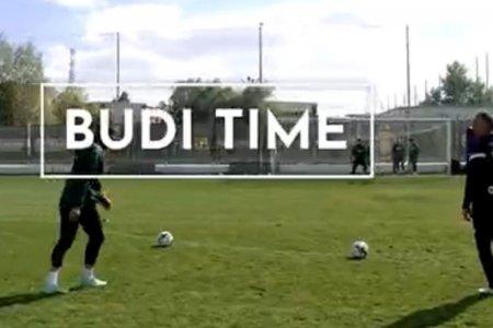 It's Budi time! » Vrajitorul Budescu a inscris dintr-o pozitie imposibila la antrenamentul de azi al FCSB-ului