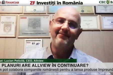 ZF Investiti in Romania! Lucian Peticila, Allview: Vrem sa dezvoltam mai multe componente in-house sau in Romania, ceea ce ne va imbunatati profitabilitatea. <span style='background:#EDF514'>TELEVIZOARE</span>le companiei sunt produse la Brasov, iar telefoanele si tabletele Allview sunt realizate in China, cercetarea si dezvoltarea pentru ele fiind in Romania