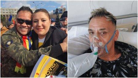 Un lider al protestelor anti-vaccin, infectat cu COVID: Virusul exista. Medicii sunt niste eroi