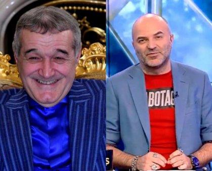 Dan <span style='background:#EDF514'>CAPATOS</span>, scuipat de Gigi Becali. Reactia prezentatorului de la Xtra Night Show: Ce ai, ti-am facut ceva?