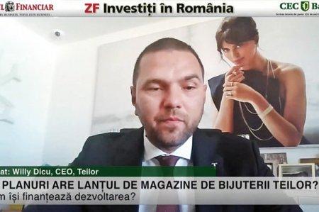 ZF Investiti in Romania! Willy Dicu, Teilor: Cea mai pretioasa bijuterie vanduta in online a fost la aproximativ 5.000 de euro, comparativ cu una de 70.000 de euro in magazin