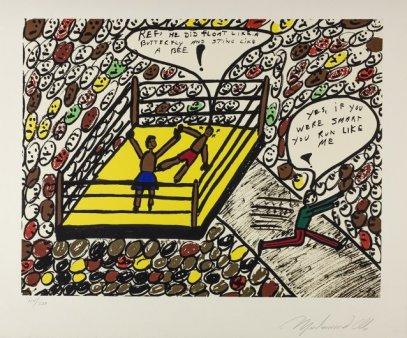 Schitele lui Muhammad Ali vandute la preturi incredibile la o licitatie din New York