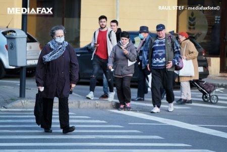 Este oficial: Masca devine obligatorie in aer liber in toate localitatile cu rata de infectare peste 6 la mie
