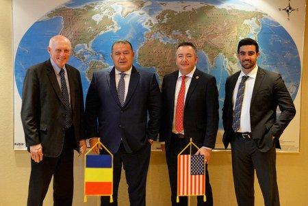 Investitii americane in Romania! Delegatia Arizona House of Representatives s-a intalnit cu presedintele CCIR