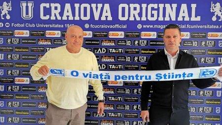 Flavius Stoican, noul antrenor al lui echipei U Craiova 1948