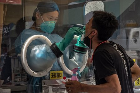 Raport: achizitia de teste PCR a crescut mult in China in 2019, cu luni de zile inainte de anuntul primului caz COVID