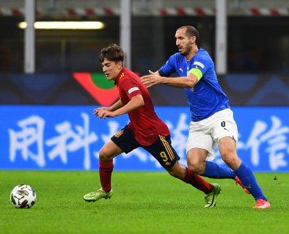 Spania invinge Italia si va juca finala in Liga Natiunilor. Prima infrangere a Italiei acasa din 1999!