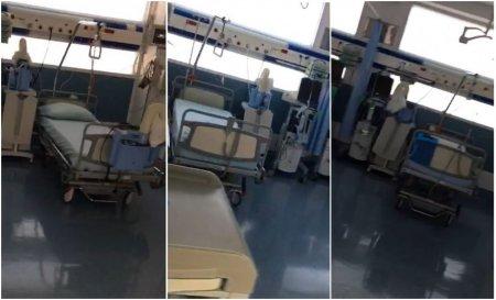 FILMARI DE LA MEDICI.  23 de paturi de la terapia intensiva a Spitalului Foisor stau goale